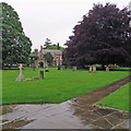 SK7053 : Southwell: a wet June afternoon by John Sutton