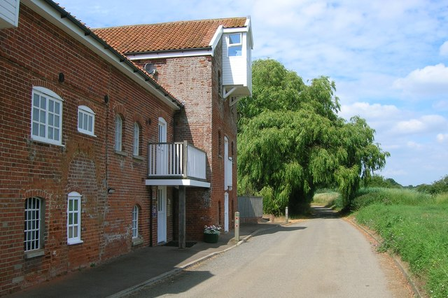 Converted watermill at Butley