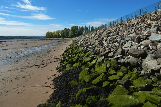 Embankment at Sandpoint