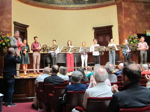 Oboe dectet by David Bruce, world premiere at Wigmore Hall