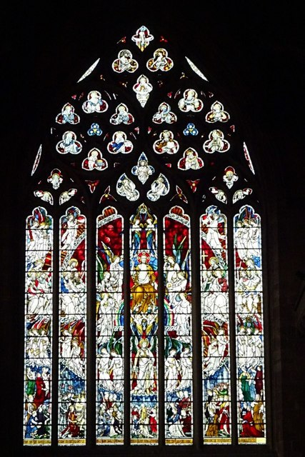 West window, St Martin in the Bull Ring