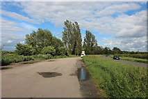 SP7217 : Layby on the A41, Westcott by David Howard
