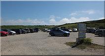 SW6619 : Poldhu Cove car park by habiloid