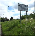 SO1500 : New Tredegar and Blackwood directions sign, Aberbargoed by Jaggery