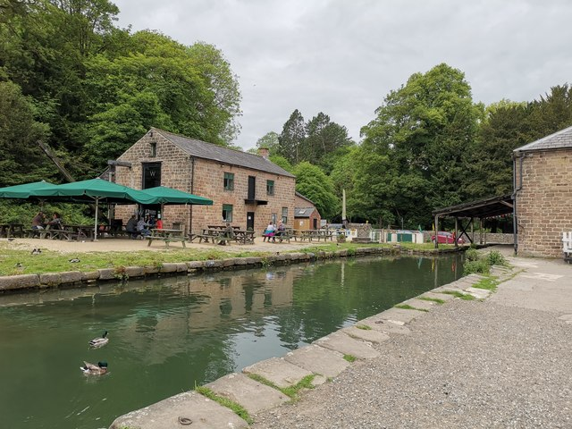 Head of Cromford Canal