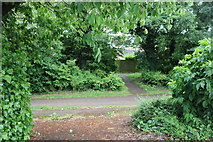 SP8535 : Paths by Standing Way, Milton Keynes by David Howard