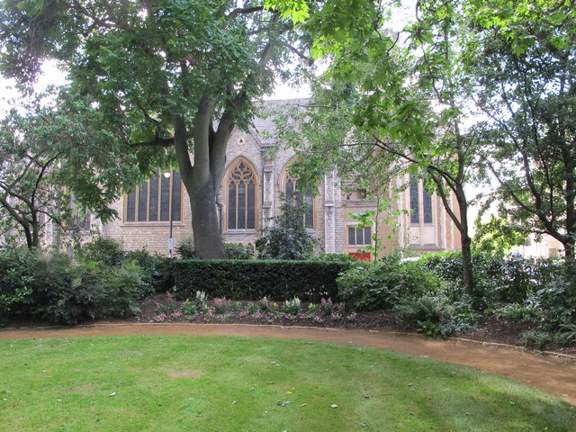 Chester Square, view to St. Michael's church