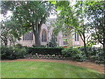 TQ2878 : Chester Square, view to St. Michael's church by David Hawgood