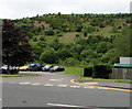 SO1402 : Hillside view from White Rose Way, New Tredegar by Jaggery