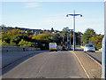 NJ9304 : Crossing King George VI Bridge at Aberdeen by David Dixon