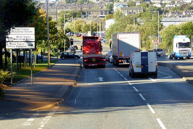 A956, Wellington Road