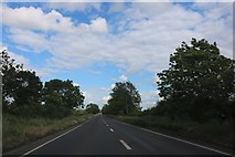SP6120 : The A41 between Ambrosden and Blackthorn by David Howard