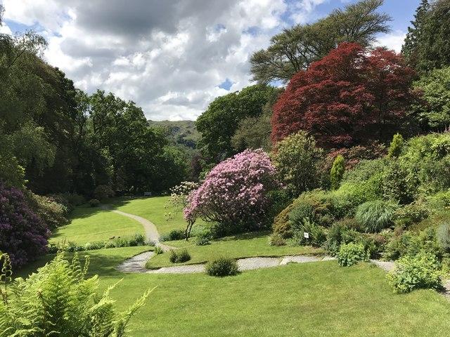 Garden at Rydal Mount