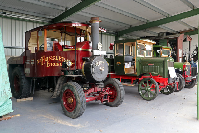 Statfold Barn Railway - historic commercial vehicles