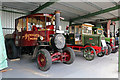 SK2406 : Statfold Barn Railway - historic commercial vehicles by Chris Allen