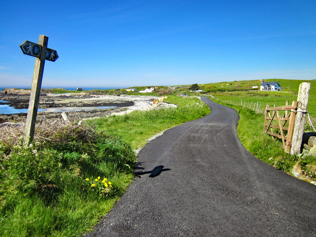 The Anglesey Coastal Path at Pen-terfyn