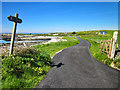 SH2986 : The Anglesey Coastal Path at Pen-terfyn by Jeff Buck