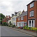 SP2872 : Kenilworth: High Street houses by John Sutton