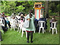 TQ2879 : Punch and Judy puppet show, Eaton Square by David Hawgood
