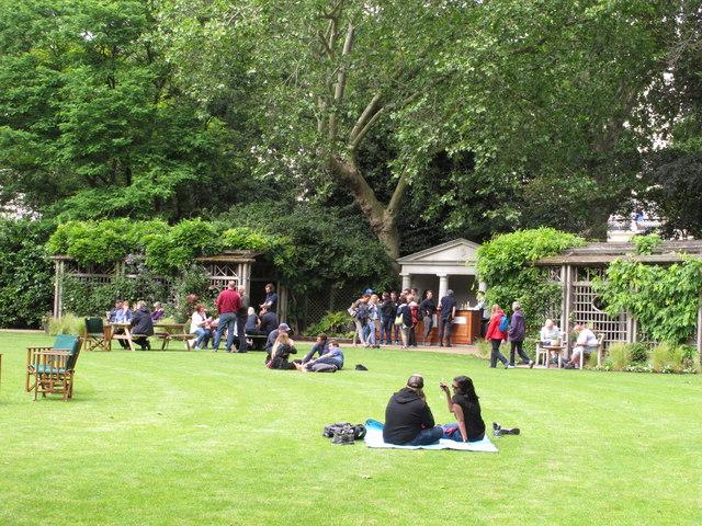 Belgrave Square garden, Open Garden Squares Weekend