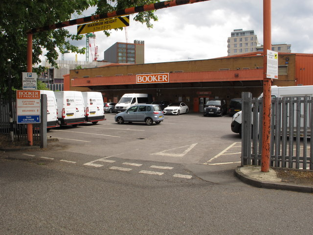 Booker Wholesale cash and carry, Camley Street