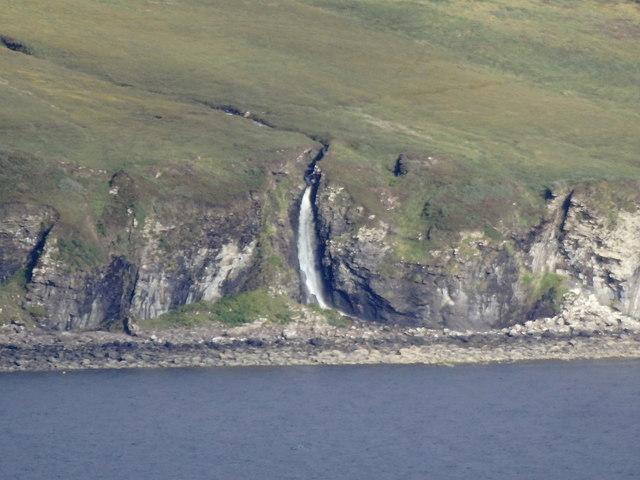Waterfall of the Allt Poll a'Bhainne