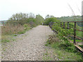 SE2917 : Former railway bridge over the Calder by Stephen Craven