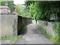 SE3457 : Knaresborough - The Parsonage linking the Church to Bond End by Peter Wood
