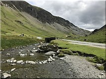 NY2114 : Gatesgarthdale Beck in The Honister Pass by Richard Humphrey