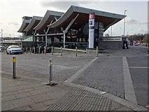 SK4293 : Rotherham Central railway station, Yorkshire by Nigel Thompson