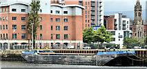 J3475 : Barge B402, Belfast harbour (June 2019) by Albert Bridge