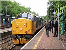 ST1882 : Return of loco-hauled commuter trains on the Rhymney line by Gareth James