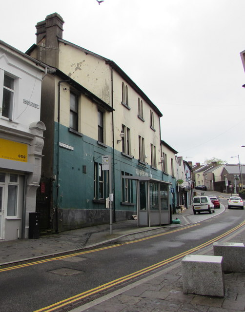 From High Street to Upper High Street, Bargoed