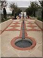 TQ3083 : Aga Khan Centre roof, Garden of Life by David Hawgood