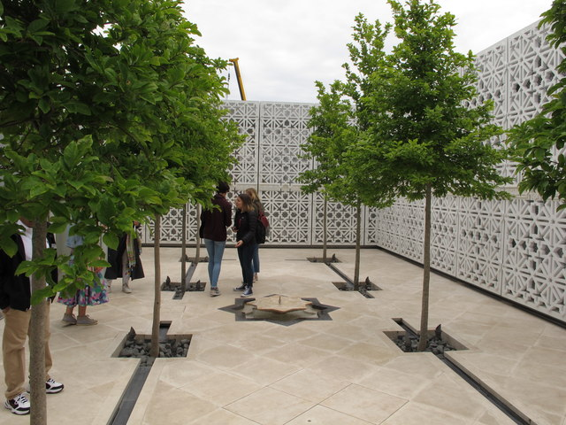 Aga Khan Centre roof, Garden of Light