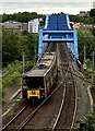 NZ2463 : Metro Train, Newcastle by David Robinson