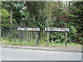 TF4905 : Road Name signs on Outwell Road by Adrian Cable