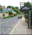 SY3392 : X51 and X53 bus stop and shelter, Uplyme Road, Lyme Regis by Jaggery
