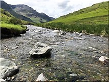 NY2014 : Gatesgarthdale Beck in The Honister Pass by Richard Humphrey