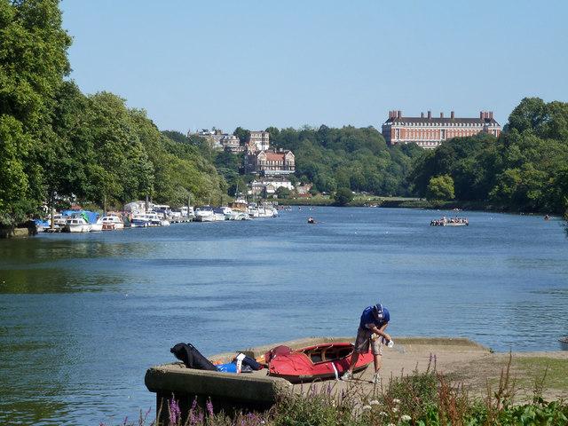 View downriver, Richmond