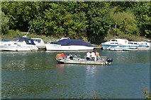 TQ1773 : Hammerton's Ferry by Robin Webster