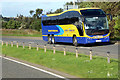 NO9093 : Plaxton Elite Coach on the A92 at Newtonhill by David Dixon