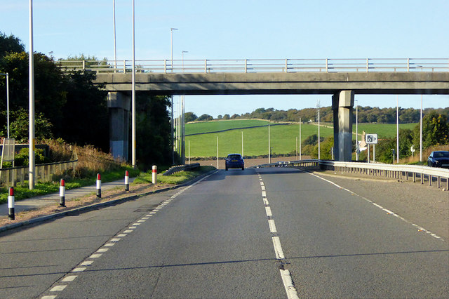 Bridge over the A92 at Newtonhill