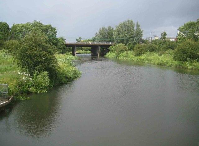 River Nene Navigation: A45 road bridge