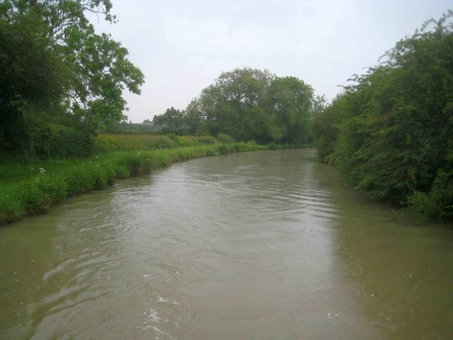 Oxford Canal: Reach south of the Engine Arm