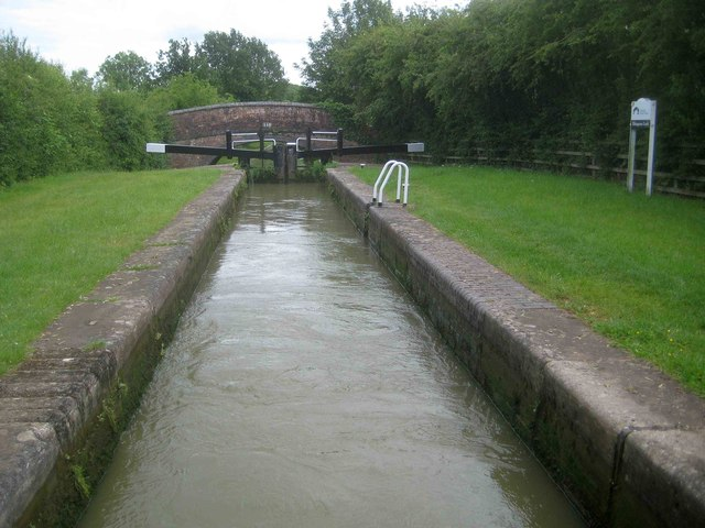 Oxford Canal: Elkington's Lock Number 22