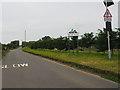 TF8707 : Holme Hale village sign by David Pashley