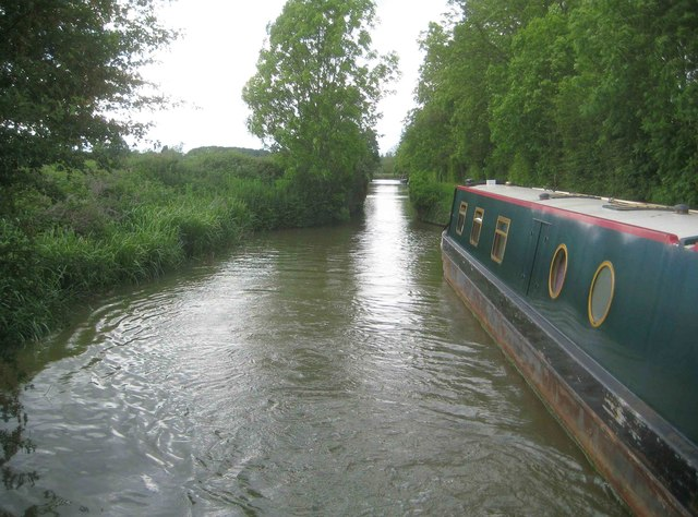 Oxford Canal: Site of former swing bridge Number 151