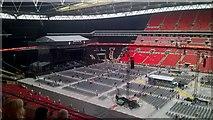 TQ1985 : Before Fleetwood Mac concert in Wembley Stadium by David Anstiss