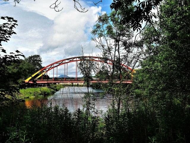 "Bonhill Bridge (""Rainbow Bridge"") -  River  Leven"